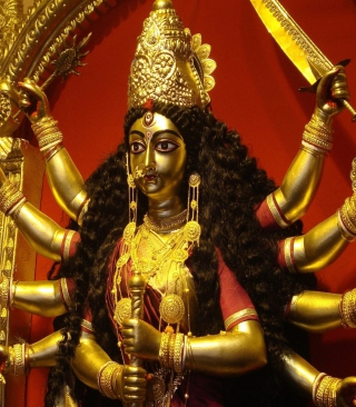 Goddess Durga Wallpaper for HTC Titan