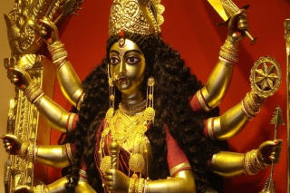 Goddess Durga Wallpaper for Android, iPhone and iPad