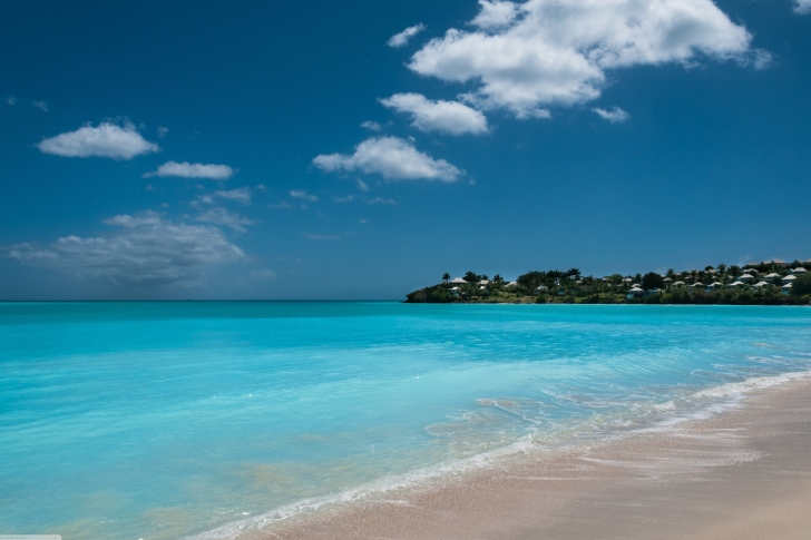 Valley Church Beach in Antigua wallpaper