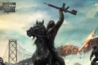 Dawn Of The Planet Of The Apes Movie Wallpaper for Android, iPhone and iPad