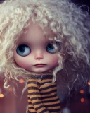 Screenshot №1 pro téma Cute Curly Doll 128x160