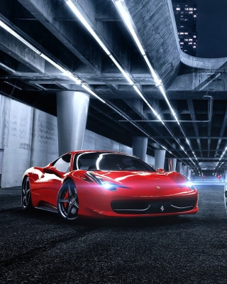 Free Ferrari compare Maserati Picture for Nokia C6