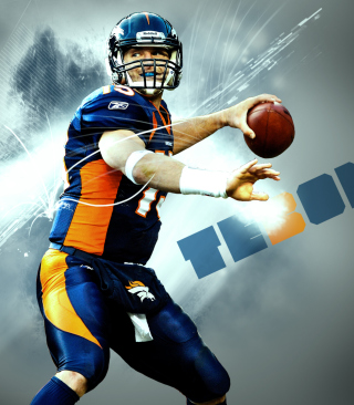 Tim Tebow Background for iPhone 6 Plus