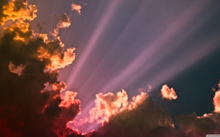 Colorful Clouds Background for 1080x960