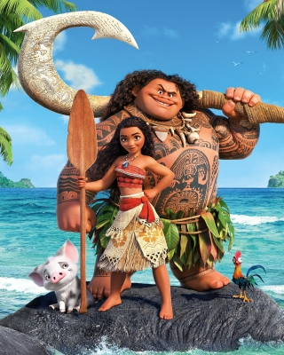 Free Moana Cartoon Picture for 240x320