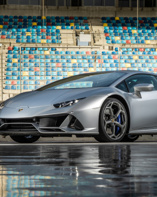 2020 Lamborghini Huracan Evo Background for Nokia Asha 308