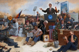 Obama USA President Picture for 1080x960