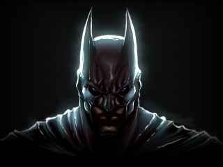 Screenshot №1 pro téma Dark Knight Batman 320x240