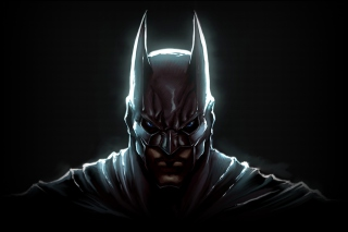 Free Dark Knight Batman Picture for Android, iPhone and iPad