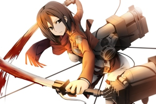 Mikasa Ackerman Picture for Android, iPhone and iPad
