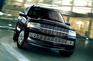 Lincoln Navigator Black sfondi gratuiti per cellulari Android, iPhone, iPad e desktop