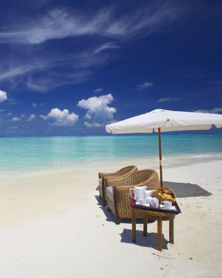 Maldives Luxury all-inclusive Resort - Fondos de pantalla gratis para 128x160