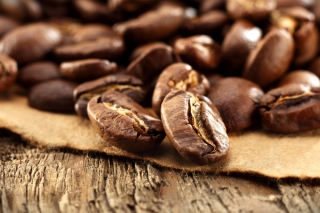 Roasted Coffee Beans Wallpaper for Android, iPhone and iPad