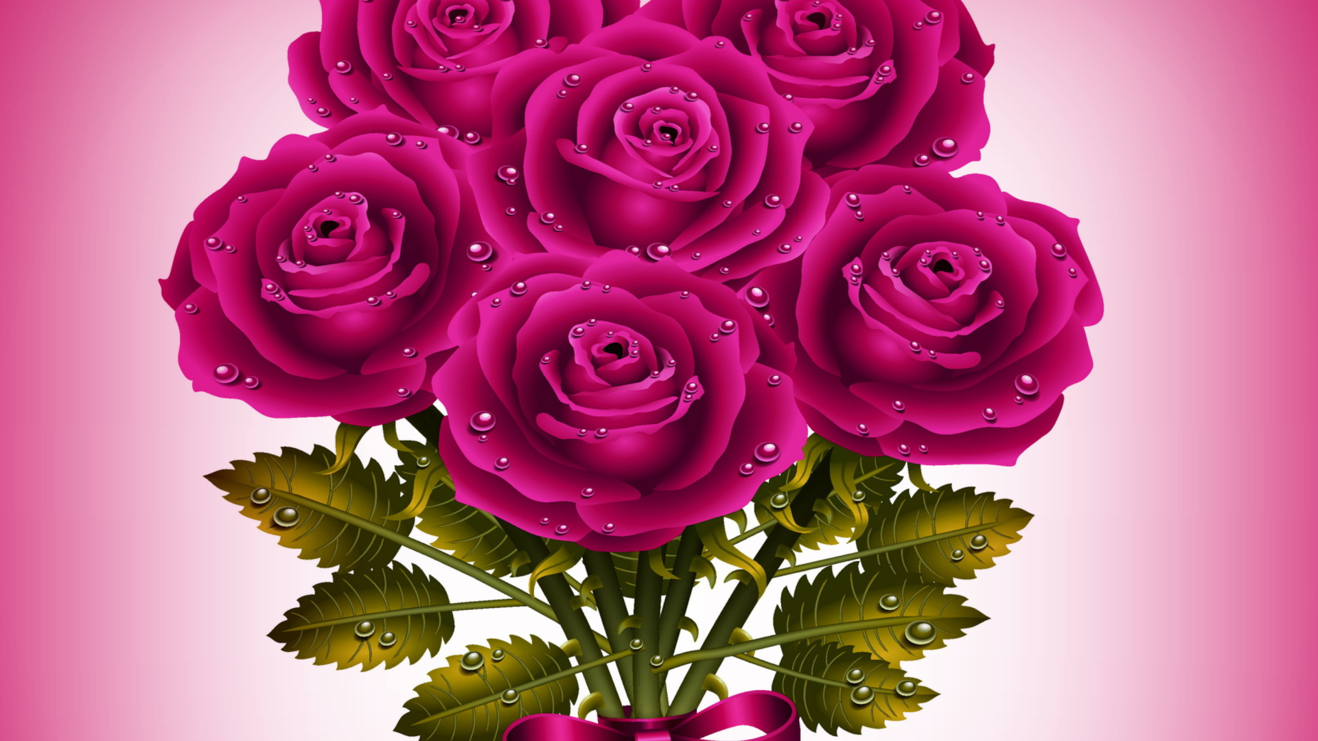 картинки на три экрана розы видел