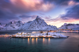 Lofoten Islands Background for Android, iPhone and iPad