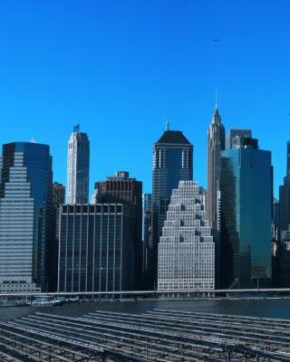 Manhattan Panoramic Background for Nokia C1-01