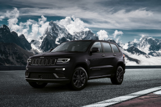 Jeep Grand Cherokee S 2018 Background for Samsung Galaxy Tab 4