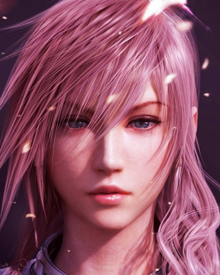 Обои Lightning Final Fantasy на телефон 480x854