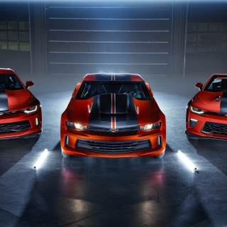 Free Chevrolet Camaro Picture for iPad mini