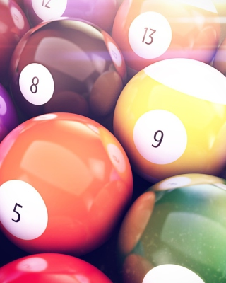 Free Billiards Balls Picture for Nokia X3-02