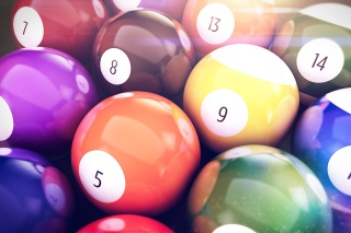 Billiards Balls Picture for Android, iPhone and iPad