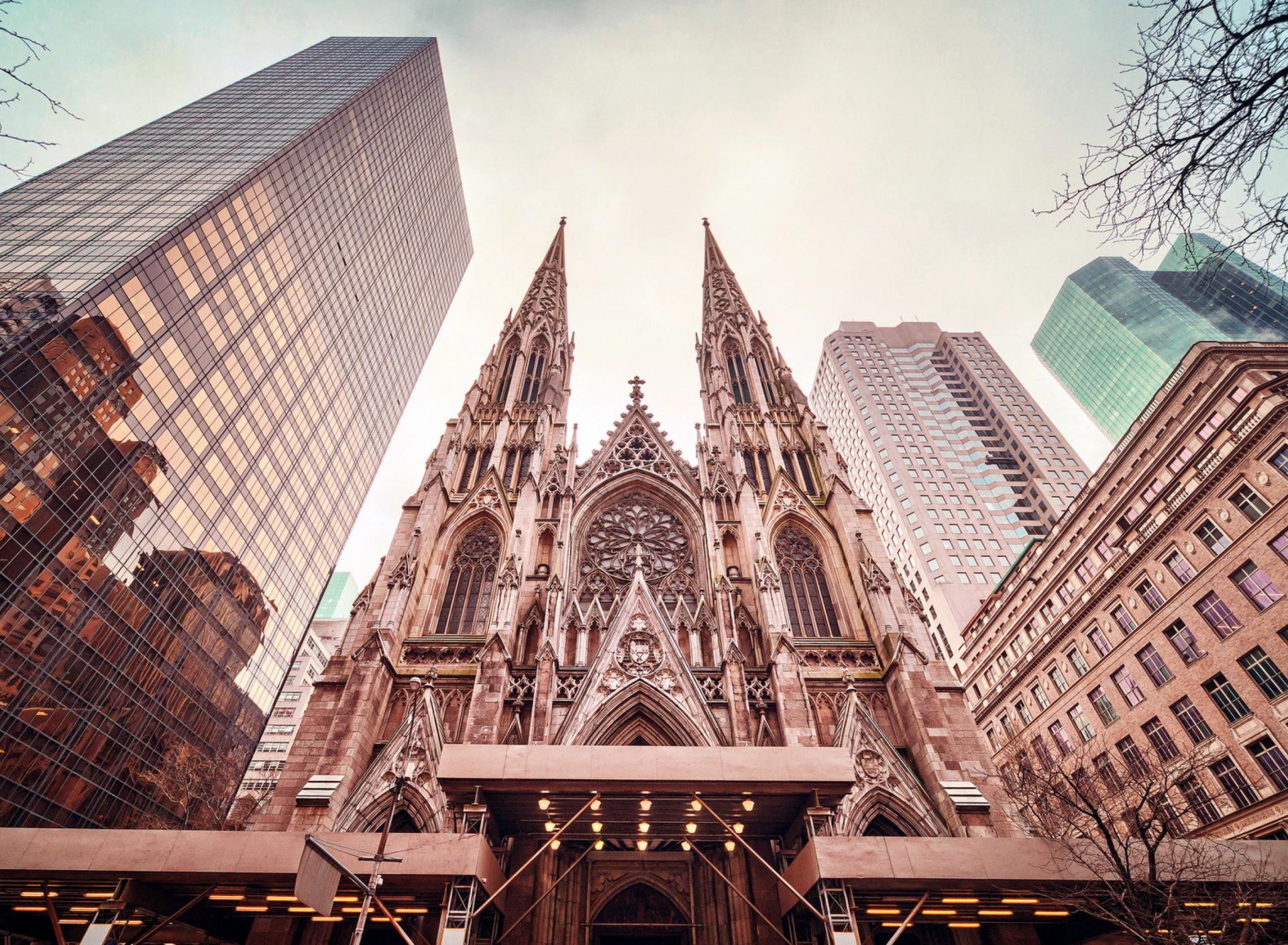 здания в Нью-Йорке без смс