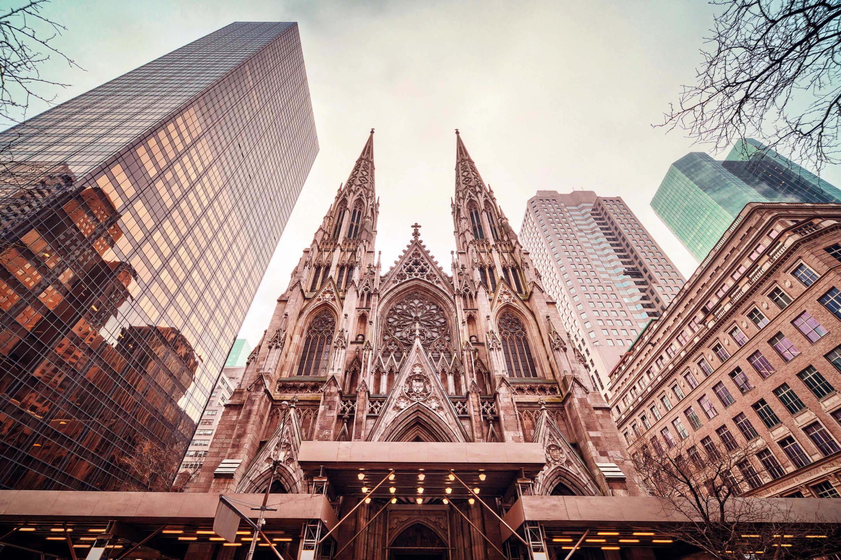 Screenshot №1 pro téma St Patricks Cathedral In New York 2880x1920