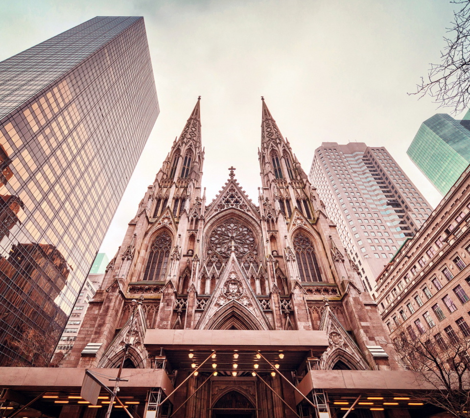 Screenshot №1 pro téma St Patricks Cathedral In New York 960x854