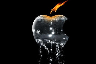 Apple Ice And Fire Picture for Android, iPhone and iPad