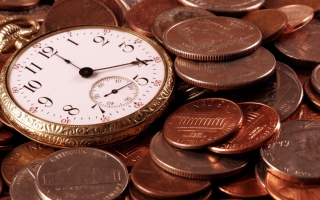 Time Is Money Picture for Android, iPhone and iPad