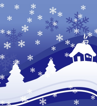 Vector Christmas Design Picture for 1024x1024