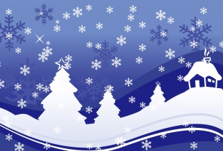 Vector Christmas Design Wallpaper for Android, iPhone and iPad