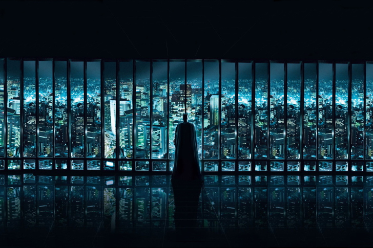 Batman Observing wallpaper