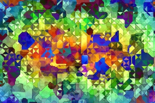 Colorful Abstract Pattern Picture for Android, iPhone and iPad