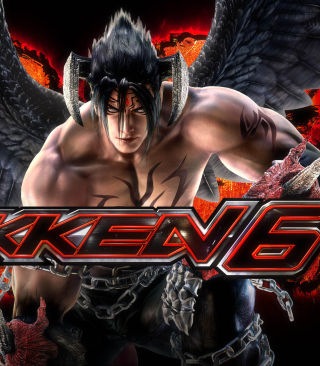 Kostenloses Jin Kazama - The Tekken 6 Wallpaper für iPhone 5C