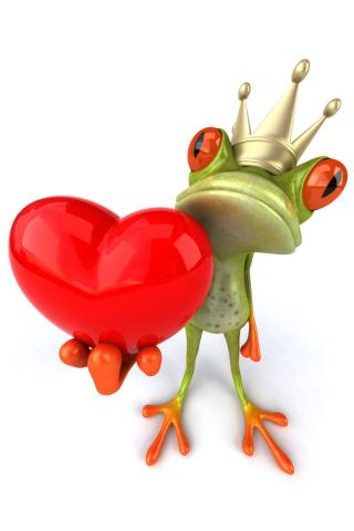 Valentine's Day Frog para Huawei G7300