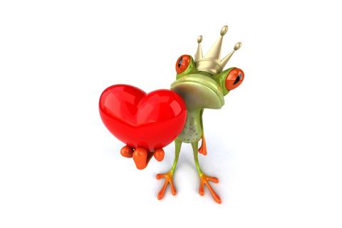 Valentine's Day Frog para LG E400 Optimus L3