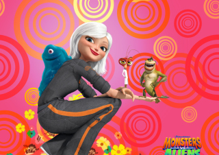 Free Monsters vs Aliens Picture for Android, iPhone and iPad
