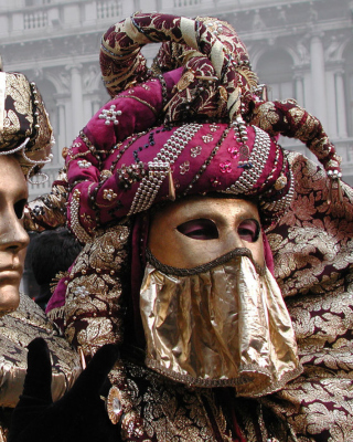 Venice Carnival Mask sfondi gratuiti per iPhone 6 Plus