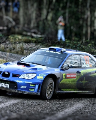Subaru Impreza WRX STI Wallpaper for Nokia Asha 310
