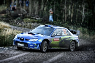 Subaru Impreza WRX STI Wallpaper for HTC Desire HD