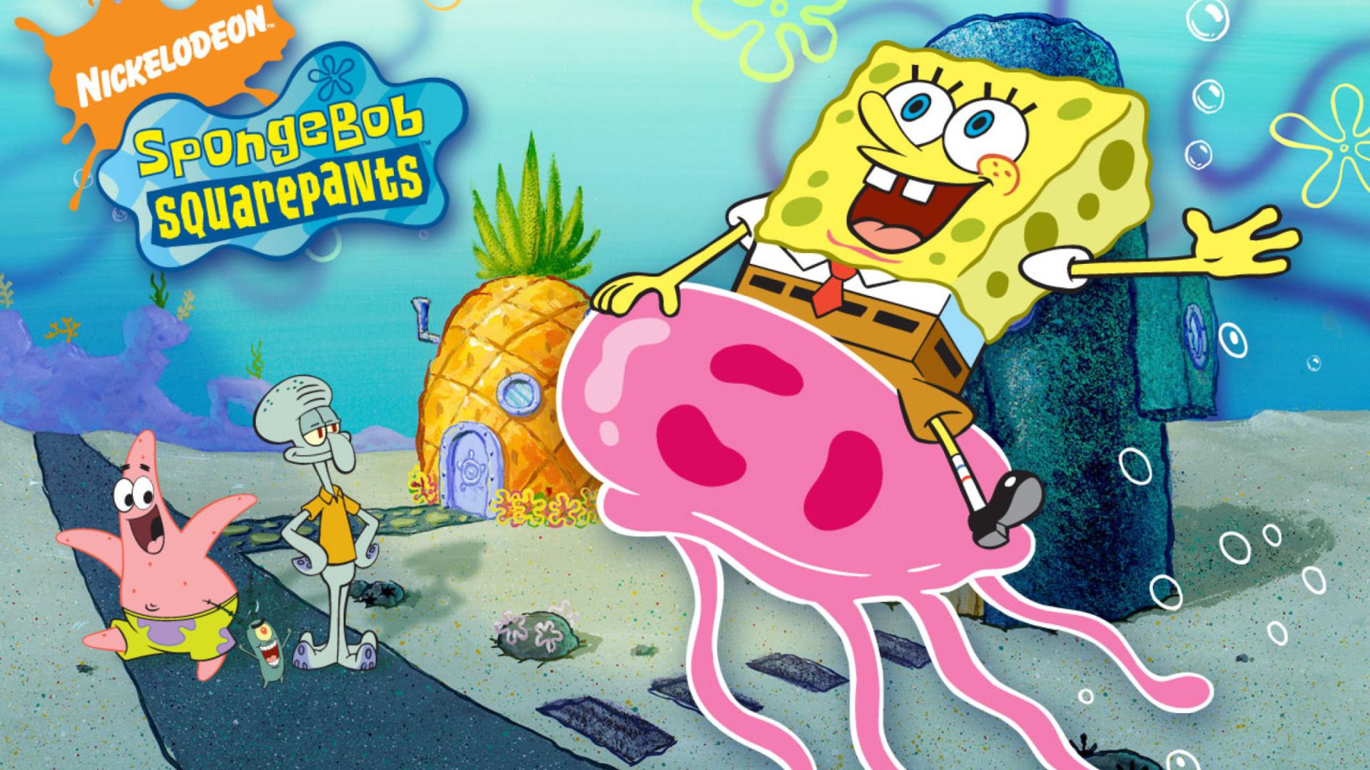 Nickelodeon Spongebob Squarepants Wallpaper For 1920x1080