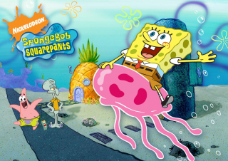 Nickelodeon Spongebob Squarepants Background for Desktop 1280x720 HDTV