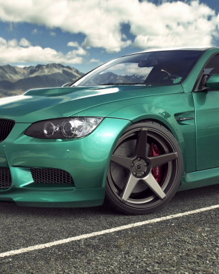 BMW F80 M3 Wallpaper for Nokia Asha 306