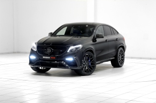 Mercedes Benz GLE Brabus 700 Background for Android, iPhone and iPad