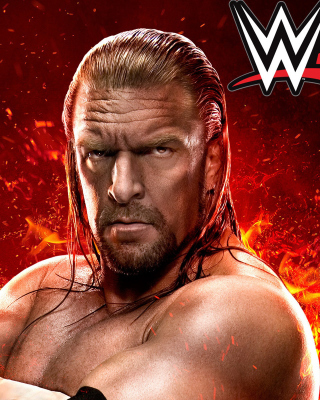 WWE 2K15 Triple H Wallpaper for iPhone 3G