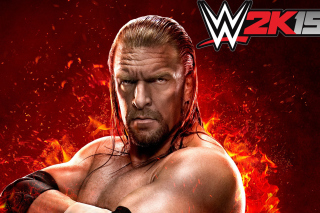 WWE 2K15 Triple H Background for Android, iPhone and iPad