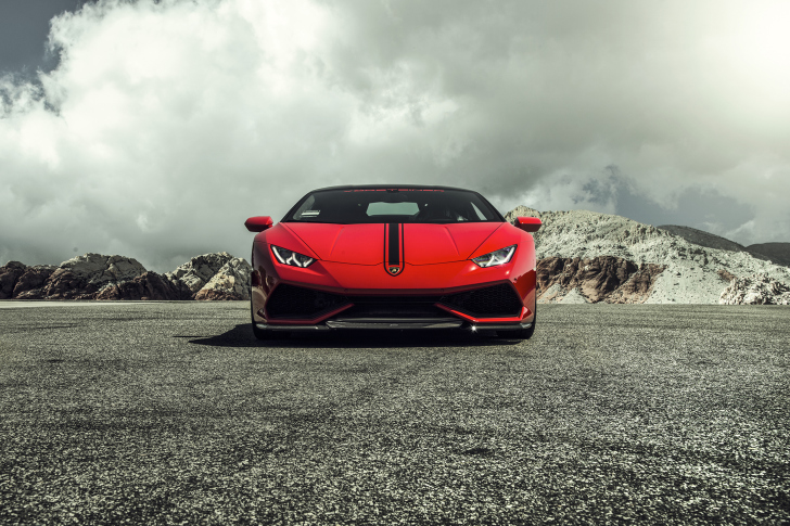 Lamborghini Huracan LP 610 4 Red wallpaper