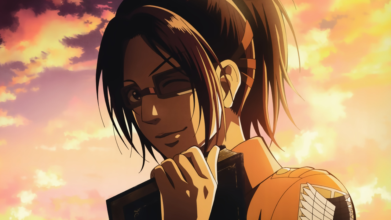 Das Hange Zoe Attack on Titan Wallpaper 1280x720