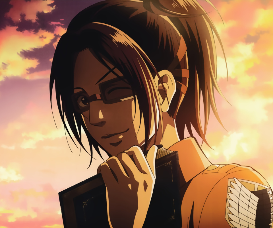 Hange Zoe Attack on Titan wallpaper 960x800